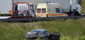 Автомобил катастрофира на Ботевградско шосе в София (СНИМКИ)