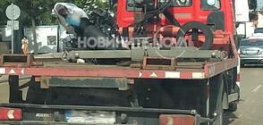 "Моторист загина при катастрофа на ""Цариградско шосе"" (СНИМКИ)"