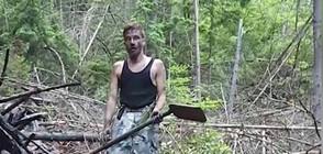 САМ СРЕЩУ ОГЪНЯ: Мъж спаси село и гора от пожар
