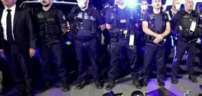 ПРОТЕСТ СРЕЩУ ТВЪРДЕНИЯТА ЗА РАСИЗЪМ: Стотици полицаи във Франция хвърлиха белезниците си