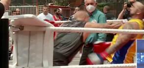 Турнир по бокс в затвора: 30 лишени от свобода се биха пред очите на двама министри