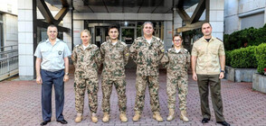 Bulgarian military medical team leaves on mission to Mali