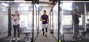 Това ли е бъдещето на фитнес залите? (ВИДЕО+СНИМКИ)