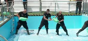 Учение: Екипи демонстрираха спасителни операции на хора
