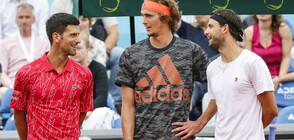 Гришо и Джокович - под обстрел от световния тенис елит (ВИДЕО+СНИМКИ)