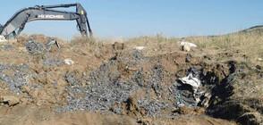 Откритите край Червен бряг акумулаторни батерии - внос от Словакия и Румъния (СНИМКИ)