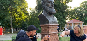 Възстановиха паметника на Ботев в Одеса (СНИМКИ)