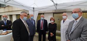 Ананиев откри най-модерния ЯМР апарат в България