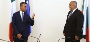 Външният министър на Италия: Поздравявам България за справянето с кризата