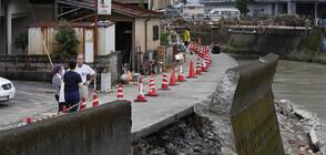 Нови големи наводнения в Япония (ВИДЕО)