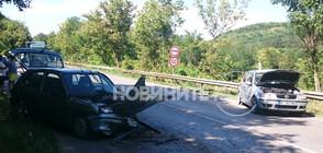 Катастрофа затвори пътя Велико Търново – Русе (СНИМКИ)