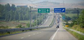 """Шофьори на камиони се тестват за COVID-19 на ГКПП """"Кулата-Промахон"""""""