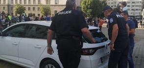 Пиян счупи кола на NOVA, арестуваха го (ВИДЕО+ СНИМКА)