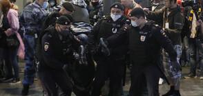 Над 100 задържани след протест за оставката на Путин в Москва (ВИДЕО+СНИМКИ)