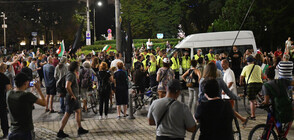 Напрежение и сблъсъци след съботния протест в София (ВИДЕО)