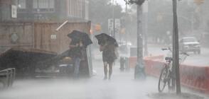"""Бурята """"Исаяс"""" остави без ток над 3 млн. души (ВИДЕО+СНИМКИ)"""