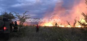 Пожар над село Горно Черковище (СНИМКИ)