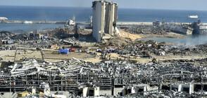 Кадри от дрон показаха разрушенията след взривовете в Бейрут (ВИДЕО+СНИМКИ)