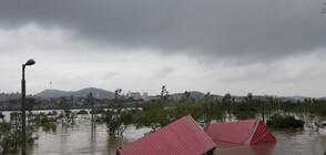 Северна Корея е заплашена от наводнения заради проливни дъждове
