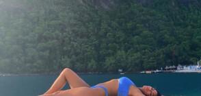 Сексапилната Никол Шерцингер с горещ танц на плажа (ВИДЕО)