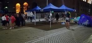 СДВР: Няма арестувани при снощния протест