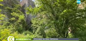 """""""ДОТАМ И ОБРАТНО"""": Разходка до каньона на река Чернелка (ВИДЕО)"""