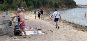 """Ахмед Доган изненада плажуващите на """"Росенец"""" (ВИДЕО+СНИМКИ)"""