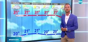 Прогноза за времето (08.08.2020 - централна)
