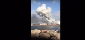 Рибар заснел мощния взрив в Бейрут (ВИДЕО)