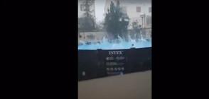 МОЩНА ГРАДУШКА: Ледени късове с големината на топки за голф в Испания (ВИДЕО)