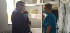 Отрицателни са пробите на контактните на заразения с COVID-19 лекар от Спешното в Кюстендил