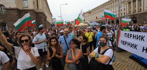 Нова вечер на протести в София (ВИДЕО+СНИМКИ)