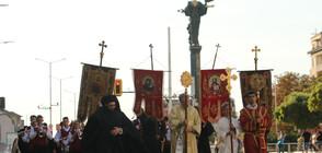 Литийно шествие в София в навечерието на деня на Вяра, Надежда и Любов