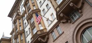 Пиян опита да нахлуе с джип в посолството на САЩ в Москва