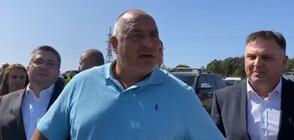 """Борисов инспектира строителството на """"Хемус"""" (ВИДЕО)"""