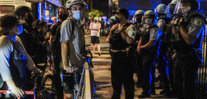 Нова вълна протести и сблъсъци с полицията в САЩ (ВИДЕО+СНИМКИ)