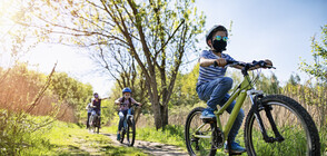 Инцидент с дете на колело доведе до затрогваща развръзка