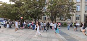 Русенци излязоха на протест за по-чист въздух (ВИДЕО)