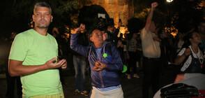 Без ескалация на напрежението в 79-ата вечер на протести