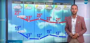 Прогноза за времето (27.09.2020 - обедна)