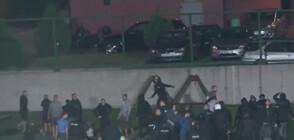 """43-ма задържани след масово сбиване в агитката на """"Левски"""""""