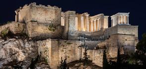 Нови светлини озариха Акропола в Атина (ВИДЕО+СНИМКИ)