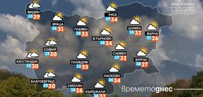 Седмицата започва с летни температури