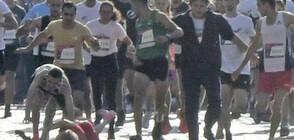 Установен е мъжът, блъснал нарочно участничка на маратона в София (СНИМКИ)