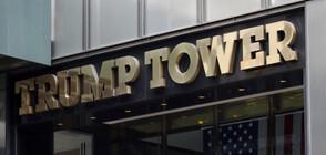 """Мъж увисна от 16-я етаж на """"Тръмп Тауър"""" в Чикаго (ВИДЕО)"""
