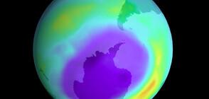 Озоновата дупка достигна максимума си за годината