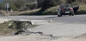 Колоездач е с тежка травма на главата след катастрофа в Разлог