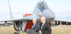 US Assistant Secretary of State R. Clarke Cooper visits Graf Ignatievo air base