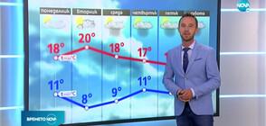Прогноза за времето (26.10.2020 - обедна)