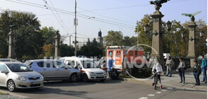 Две катастрофи с линейки в София (СНИМКИ)